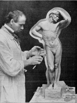 Casting-in-Plaster-A-Demonstration-by-Mr-Cantoni
